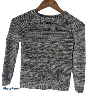 🎈2 for $15 Girls hi-low knit Gray sweater Small